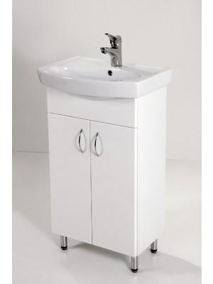 HB Fürdőszobabútor, Standard 50 mosdós fürdőszoba szekrény, 50 cm