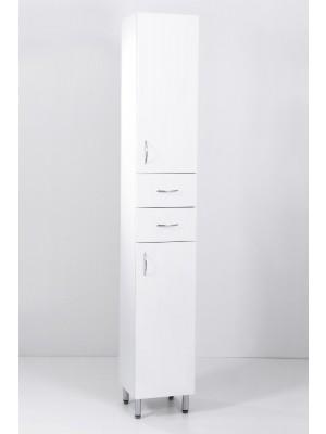 HB Fürdőszobabútor, Standard 30F2 álló szekrény, 30 cm