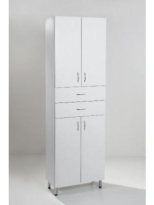 HB Fürdőszobabútor, Standard 60F2 álló szekrény, 60 cm