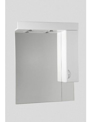 HB Fürdőszobabútor, Standard 75SZ tükrös felső szekrény, 75 cm