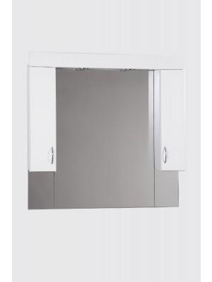 HB Fürdőszobabútor, Standard 100SZ tükrös felső szekrény, 100 cm