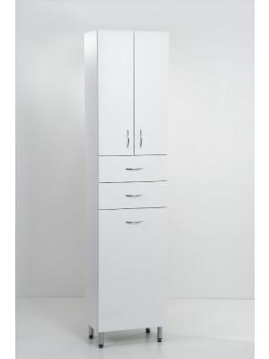 HB Fürdőszobabútor, Standard 45SZF szennyestartós álló szekrény, 45 cm