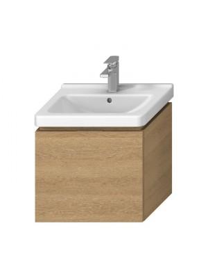 Fürdőszobabútor, Jika, Cubito Pure alsószekrény, tölgy, 55 cm-es mosdóhoz H40J4223015191 I.o.