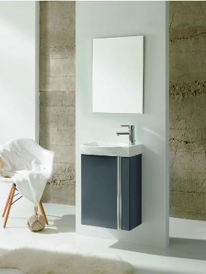 Fürdőszobabútor, Royo Elegance, szürke, 45 cm