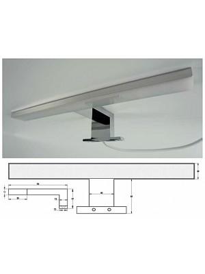 HB Fürdőszobabútor, ELIT lámpa, Light fürdőszoba tükörhöz, LED