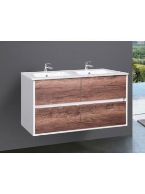 Fürdőszobabútor, Wellis, Ginger 120, 4 fiókos, mosdós szekrény