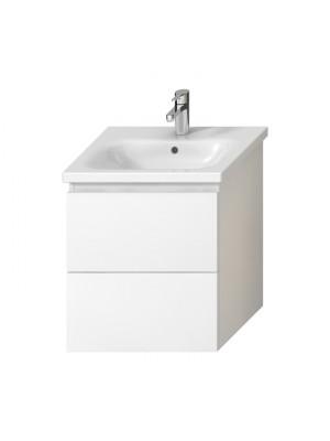 Fürdőszobabútor, Jika, MIO-N 55 alsószekrény, fehér, H40J7134015001 I.o.