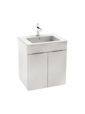 Fürdőszobabútor, Jika Cube 55cm szett, alsószekrény mosdóval H4536111763001 I.o.