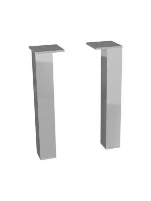 Jika, Cube bútorokhoz lábak, krómozott, 2 db/csomag H4944021760001 I.o.