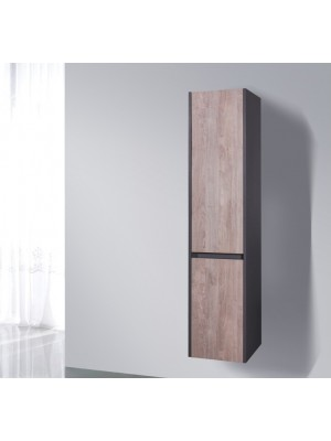 Fürdőszobabútor, Wellis, Bilbao magas fali szekrény 35*30*160 cm I.o.