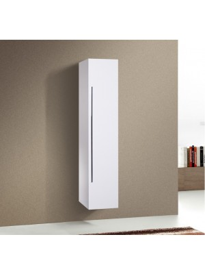 Fürdőszobabútor, Wellis, Almeria magas fali szekrény 35*30*160 cm I.o.