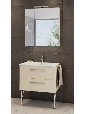 Fürdőszobabútor, tBoss, Fano 75, komplett szett