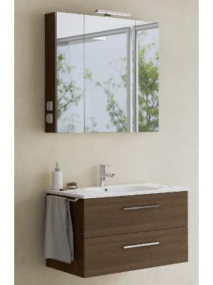 Fürdőszobabútor, tBoss, Fano 90, komplett szett