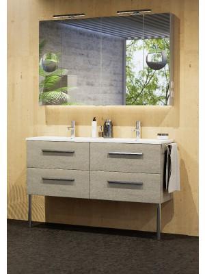 Fürdőszobabútor, tBoss, Fano 120, komplett szett