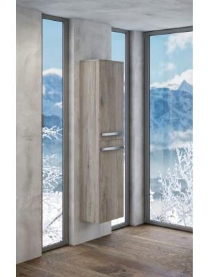 Fürdőszobabútor, tBoss, Leon F120 2A, kiegészítőszekrény