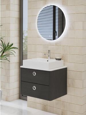 Fürdőszobabútor, tBoss, Lido 60 2F, alsószekrény mosdóval
