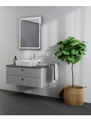Fürdőszobabútor, tBoss, Lido 90 2F, alsószekrény mosdóval