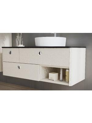 Fürdőszobabútor, tBoss, Lido 120 3F 1NY 1M, alsószekrény mosdóval, 120cm