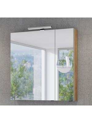 Fürdőszobabútor, tBoss, Mirror Box Recta, 80 tükrös felsőszekrény