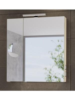 Fürdőszobabútor, tBoss, Mirror Box Recta, 75 tükrös felsőszekrény