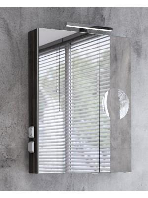 Fürdőszobabútor, tBoss, Mirror Box Recta, 60 tükrös felsőszekrény