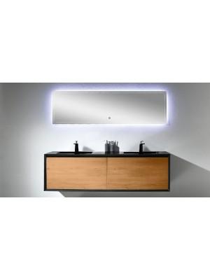 Wellis Tenebra 190 komplett bútor tükörrel
