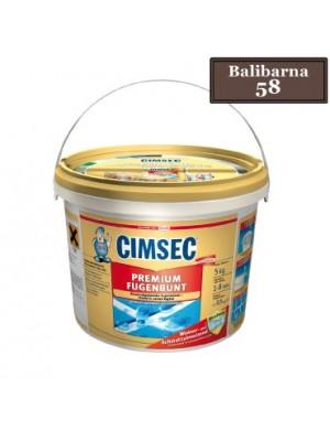 Cimsec, Prémium fugázó, balibarna (58) 5 kg vödrös