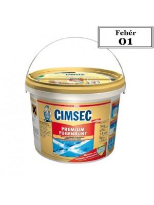 Cimsec, Prémium fugázó, fehér (01) 5 kg vödrös