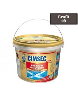 Cimsec, Prémium fugázó, grafit (27) 5 kg vödrös