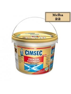 Cimsec, Prémium fugázó, melba (22) 5 kg vödrös