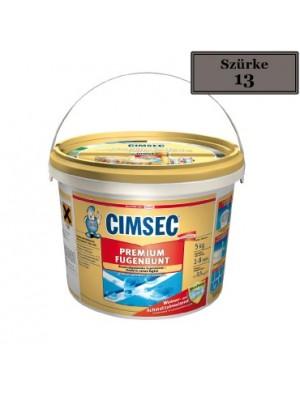 Cimsec, Prémium fugázó, szürke (13) 5 kg vödrös