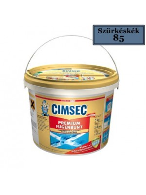 Cimsec, Prémium fugázó, szürkéskék (85) 5 kg vödrös