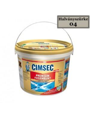 Cimsec, Prémium fugázó, Halványszürke (04) 5 kg vödrös
