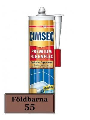 Cimsec,Prémium fugenflex SE 55/földbarna 310 ml