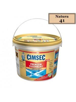Cimsec, Prémium fugázó, natura (41) 5 kg vödrös