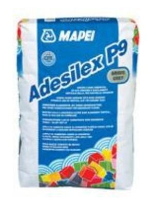 Mapei, Adesilex P9, flexibilis csemperagasztó, 25 kg / zsák C2TE