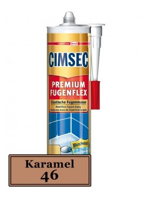 Cimsec, Prémium fugenflex SE 46/karamell 310 ml