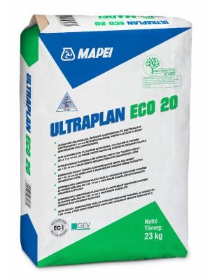 Mapei, Ultraplan Eco 20 önterülő aljzatkiegyenlítő, 1-10 mm, 23 kg/zsák