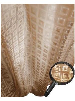 Quadrat 2000, Zuhanyfüggöny, 3D, M, pyramid, beige, 8008525480026