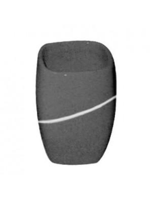 Quadrat 2000, Kerámia, STONE ANTRACIT, fogmosó pohár, 8008521001768