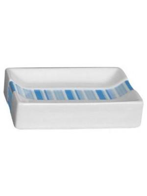 Quadrat 2000, Kerámia, LINE BLUE Family, szappantartó, 8008520001516
