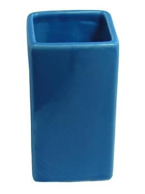 Quadrat 2000, Kerámia, CUBES BLUE Family, fogmosó pohár, 8008520001615