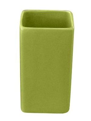 Quadrat 2000, Kerámia, CUBES GREEN Family, fogmosó pohár, 8008520001318
