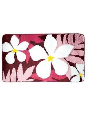 Quadrat 2000, Fürdőszobaszőnyeg, Deluxe, XL, Flower, pink, 8008520002643