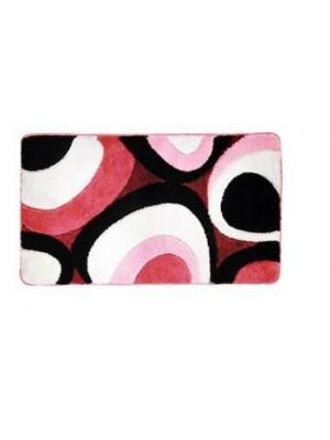 Quadrat 2000, Fürdőszobaszőnyeg, Deluxe, XL, Oval, pink, 8008520002742