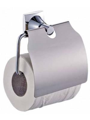 Quadrat 2000, Kiegészítő szett, NIQUINE, Wc papír tartó, fedeles, 8008521016335