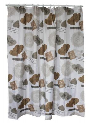 Quadrat 2000, Zuhanyfüggöny, textil, 180*200cm, Vintage 8008525479709