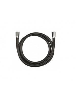Kludi, Suparaflex Black, 160 cm, zuhanycső, 6107287-00