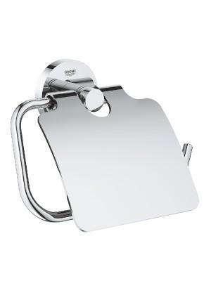 Grohe, Essentials WC-papír tartó fedéllel, 40367001 I.o.