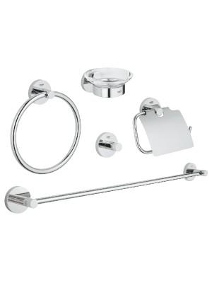 Grohe, Essentials fürdőszobai kiegészítőkészlet 5 az 1-ben, 40344001